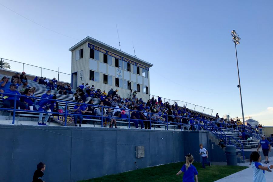 high school football stadium
