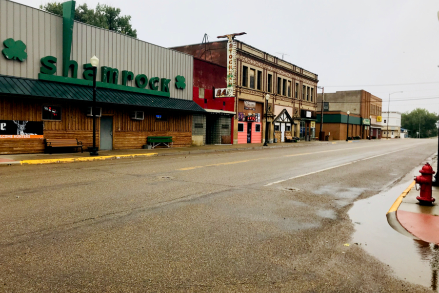 streets of Wibaux