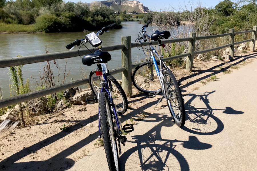 biking in Scotts Bluff, NE