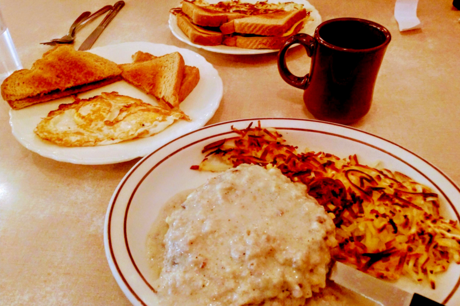 breakfast chicken fried steak