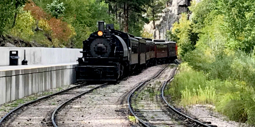 A Steam Engine Train Ride and Crazy Horse Monument- Day 9