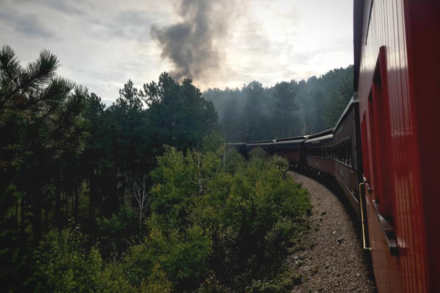 steam engine train ride.