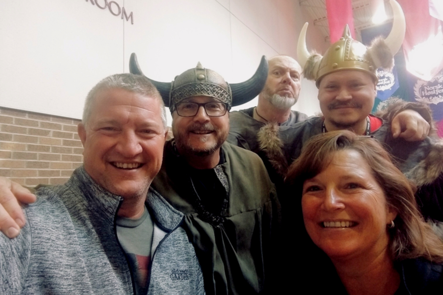 north dakota vikings