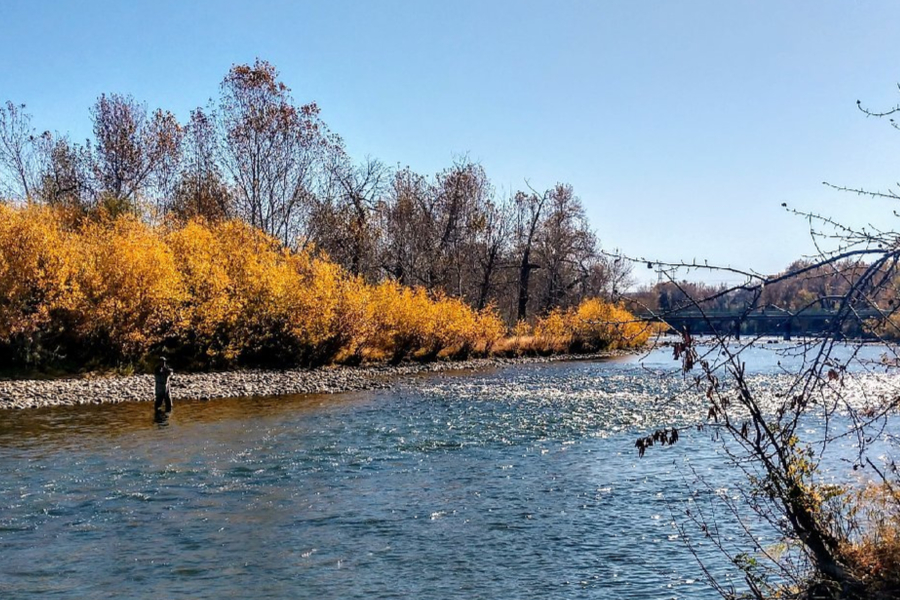 Boise Idaho Boise River