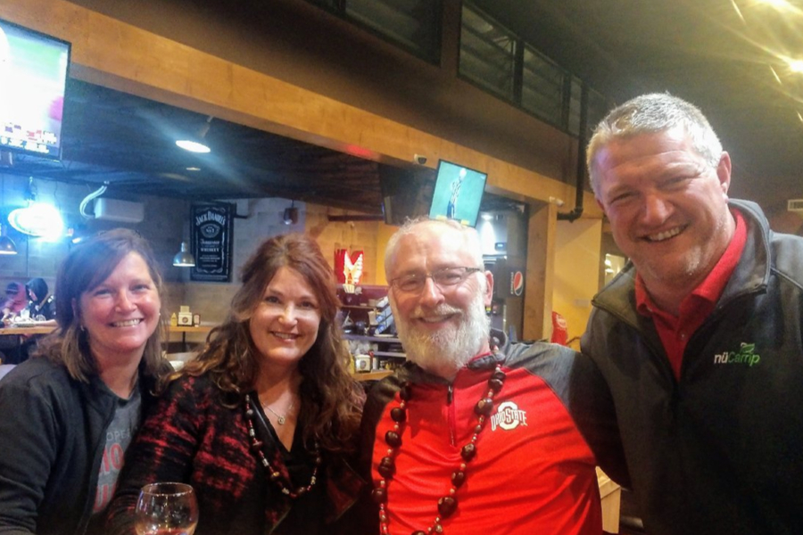 Meeting the Hannans In Cody Wyoming