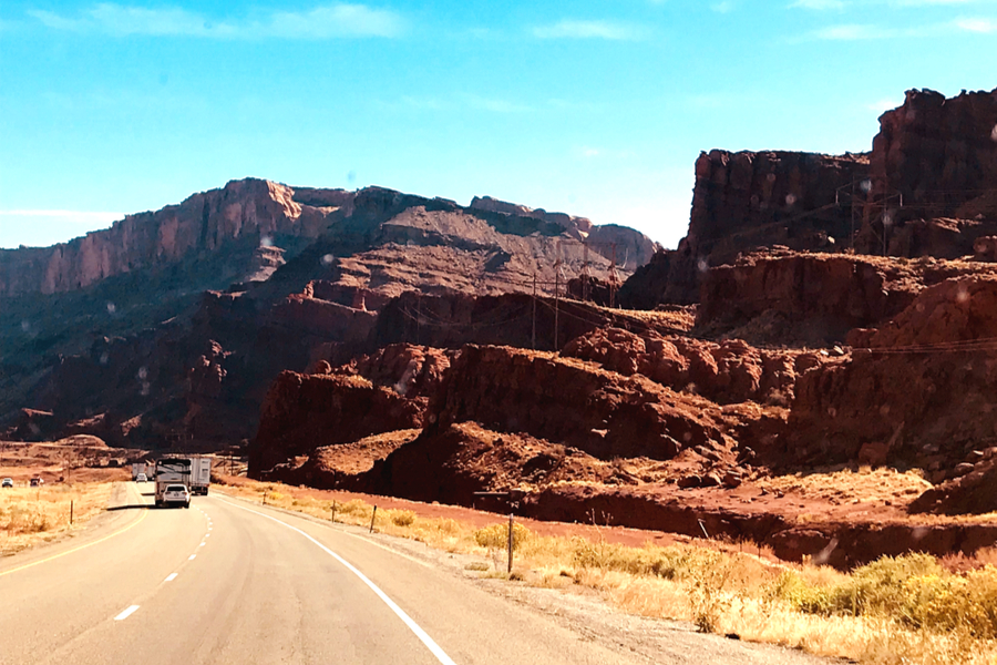 drive to arches national park