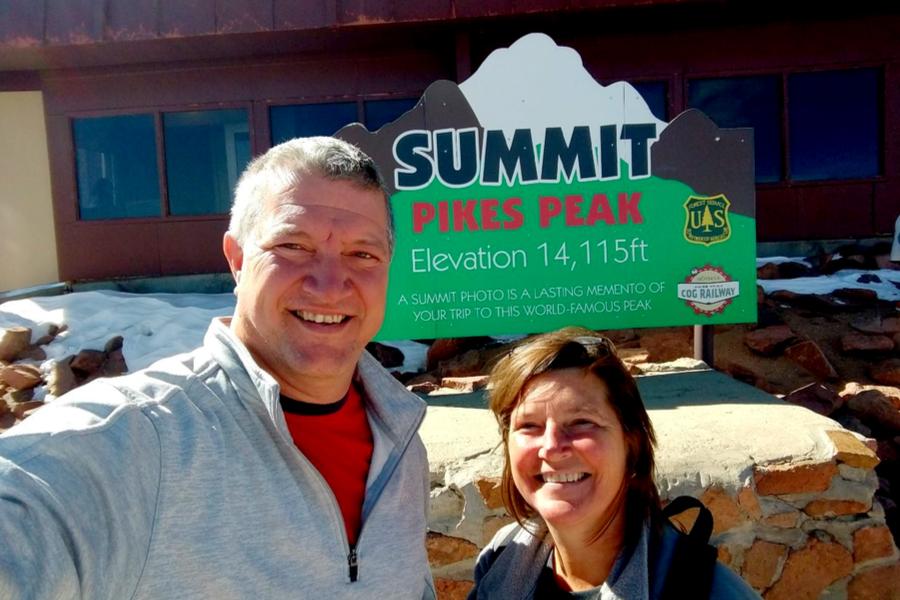 pike's peak summit