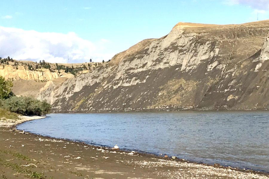 Sharing Our Story and Hiking Along The Yellowstone River – Day 24