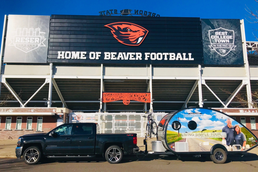 beaver football stadium