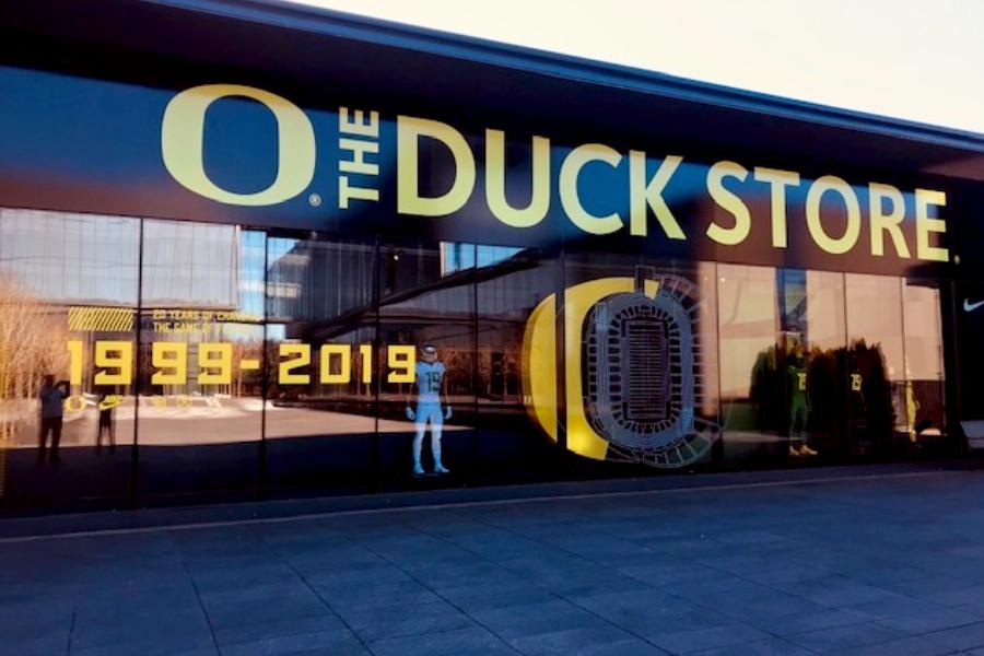 Oregon ducks store