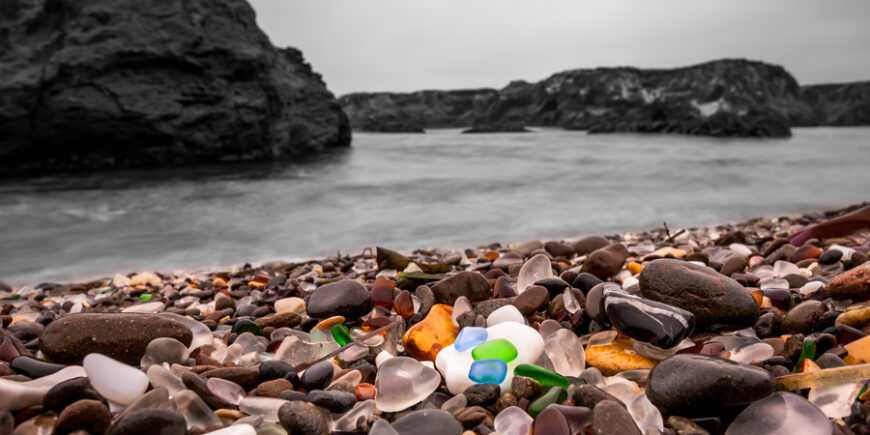 Glass Beach – How Trash Became A Tourist Treasure, Day 82