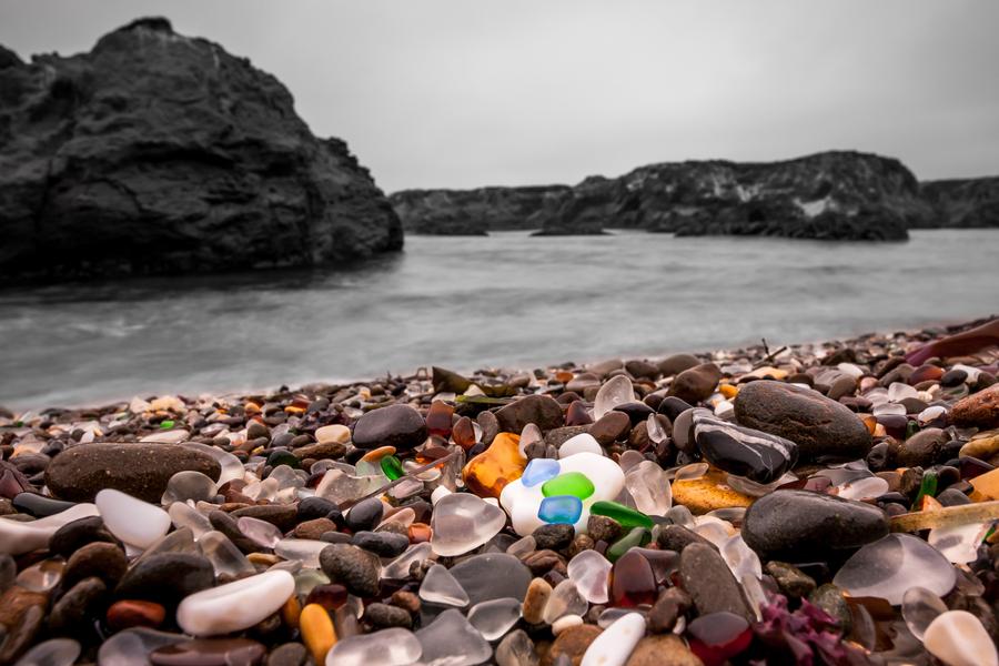 Glass Beach – How Trash Became A Tourist Treasure, Day 82