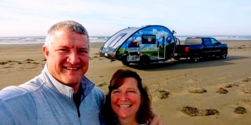We Arrived On The Pacific Coast At the World's Longest Beach – Day 60