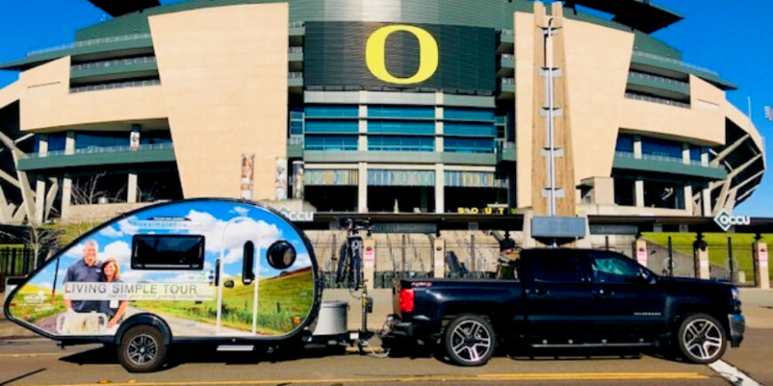 A Tour Like No Other – A Day With Oregon Ducks and Beavers, Day 74