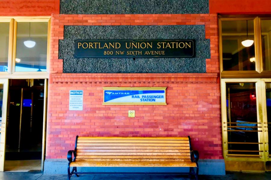 portland amtrak union station