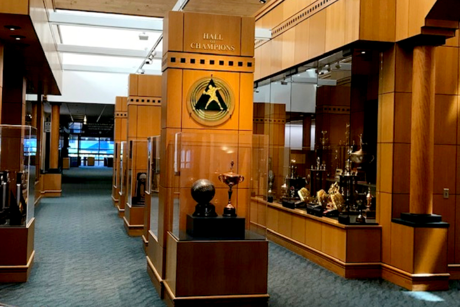 Oregon Ducks Hall of Champions