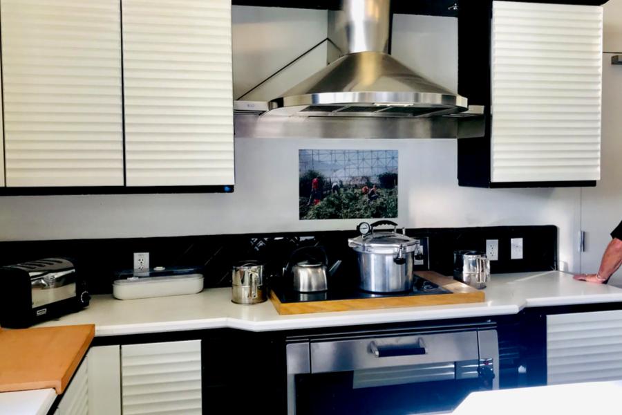 the biosphere 2 kitchen