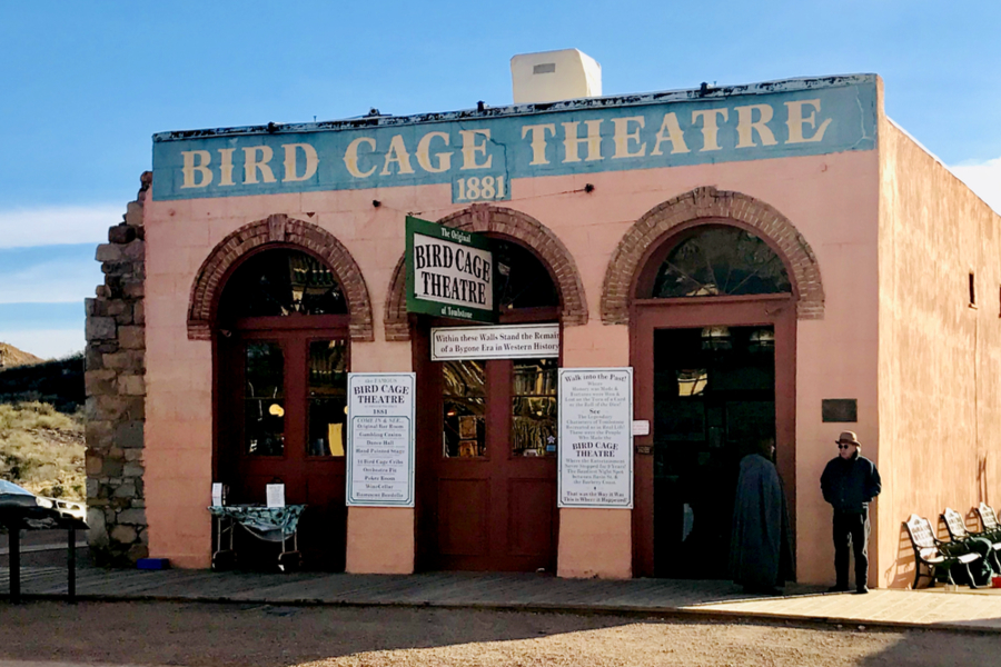 bird cage theater in Tombstone