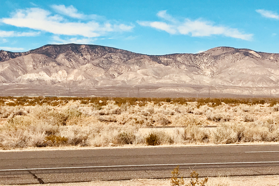 A Drive Through The Mojave Desert and An Airplane Graveyard, Day 92