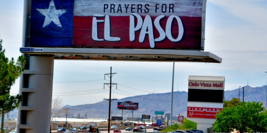 An El Paso Memorial In Honor Of 22 Victims, Day 112