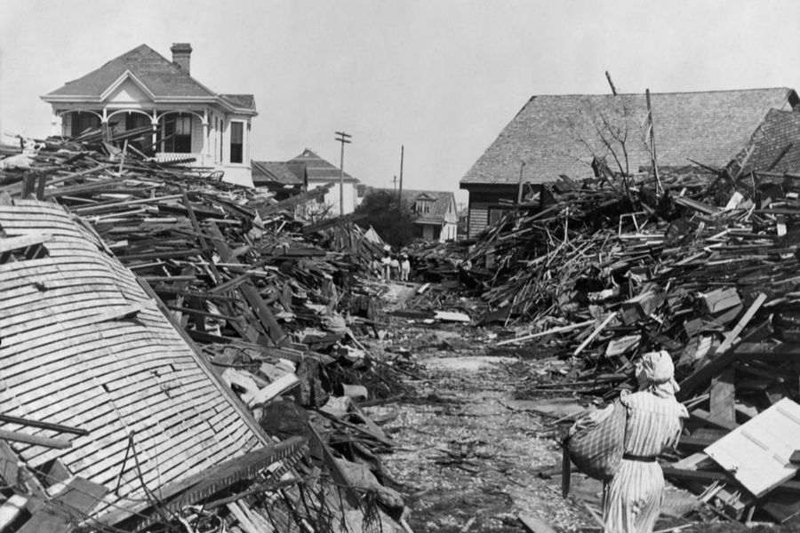 hurricane of 1900