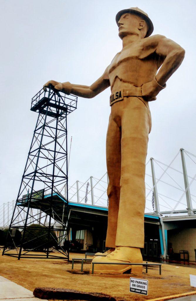 Tulsa's Tallest Man