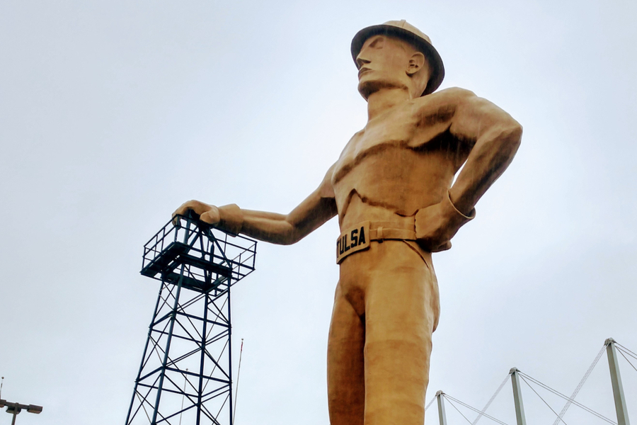 The Golden Driller