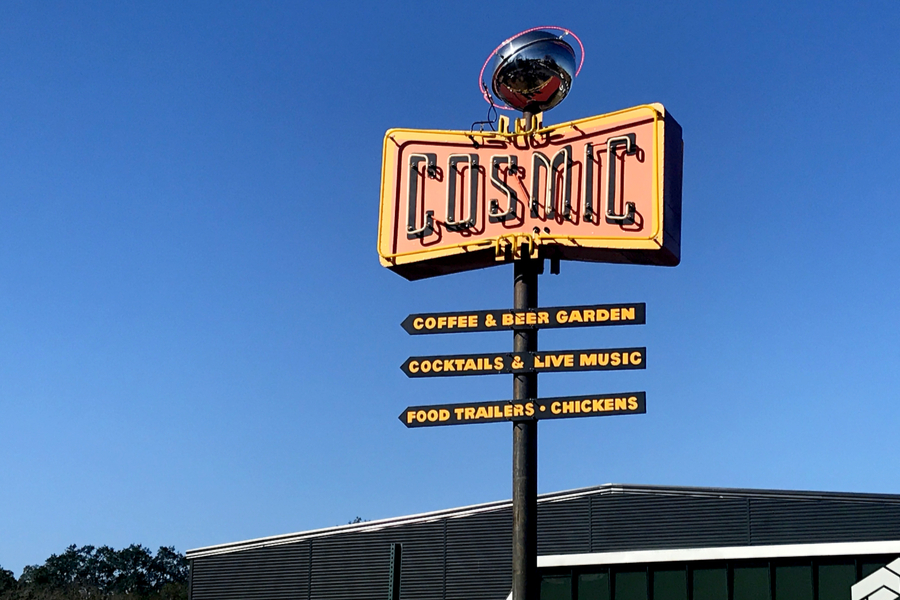 Austin Cosmic Coffee Shop