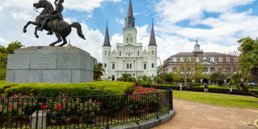 Jackson Square, The Center of The French Quarter, Day 142
