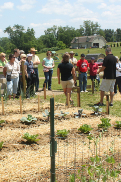 garden classes at the farm - friends we meet