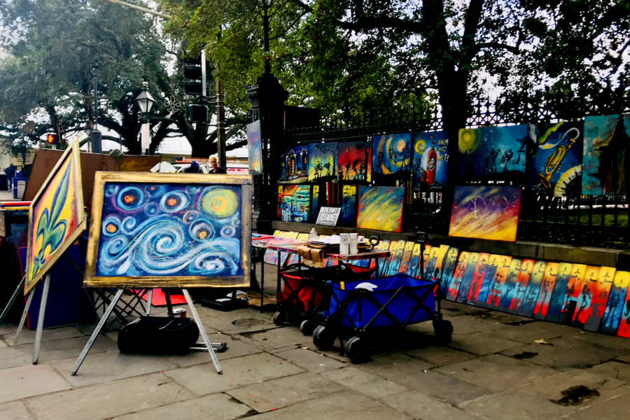 art on Jackson Square