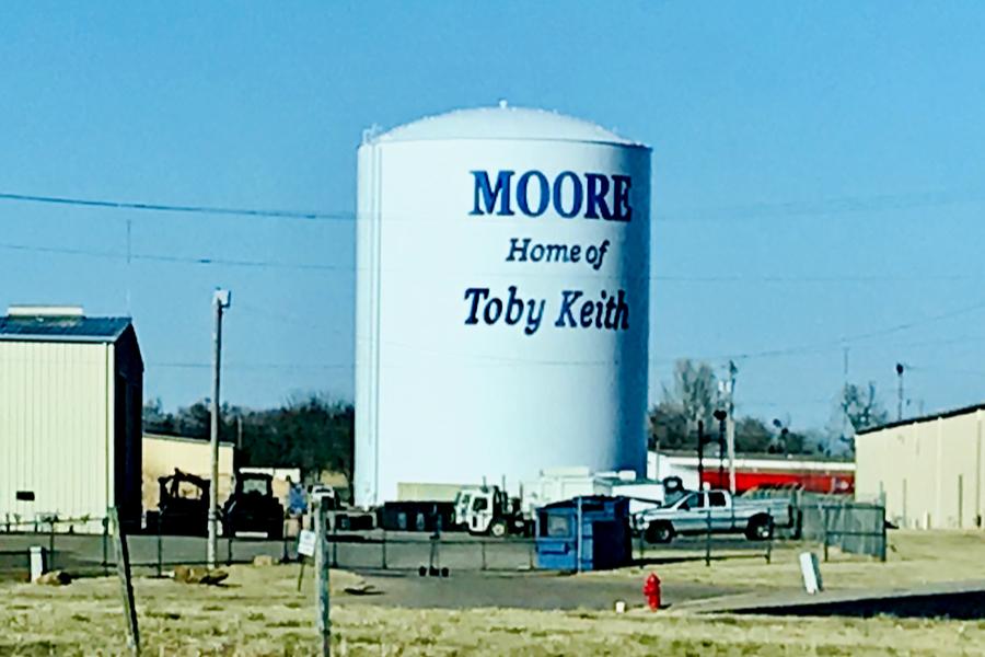 road to Oklahoma