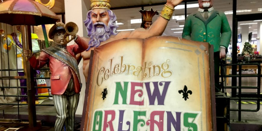 Mardi Gras World – How The Floats Are Made, Day 144