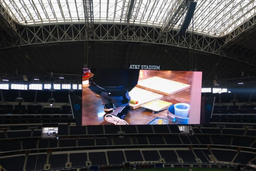 ATT Stadium big screen