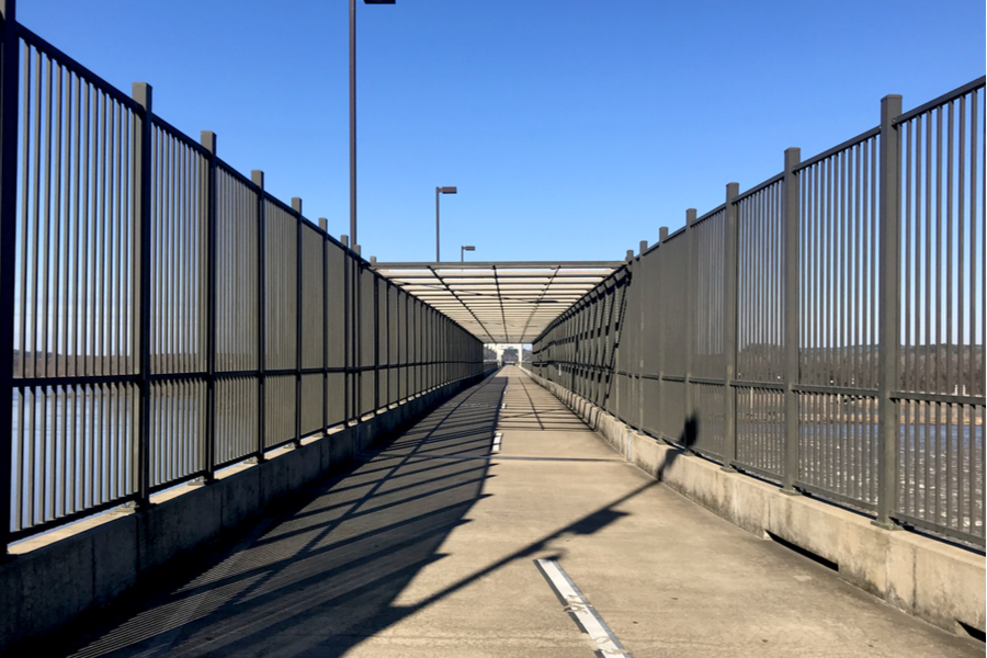 big dam bridge path
