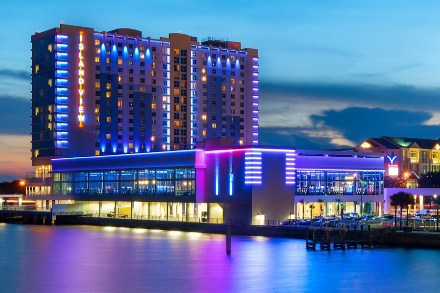 camping for free at casinos - Island View