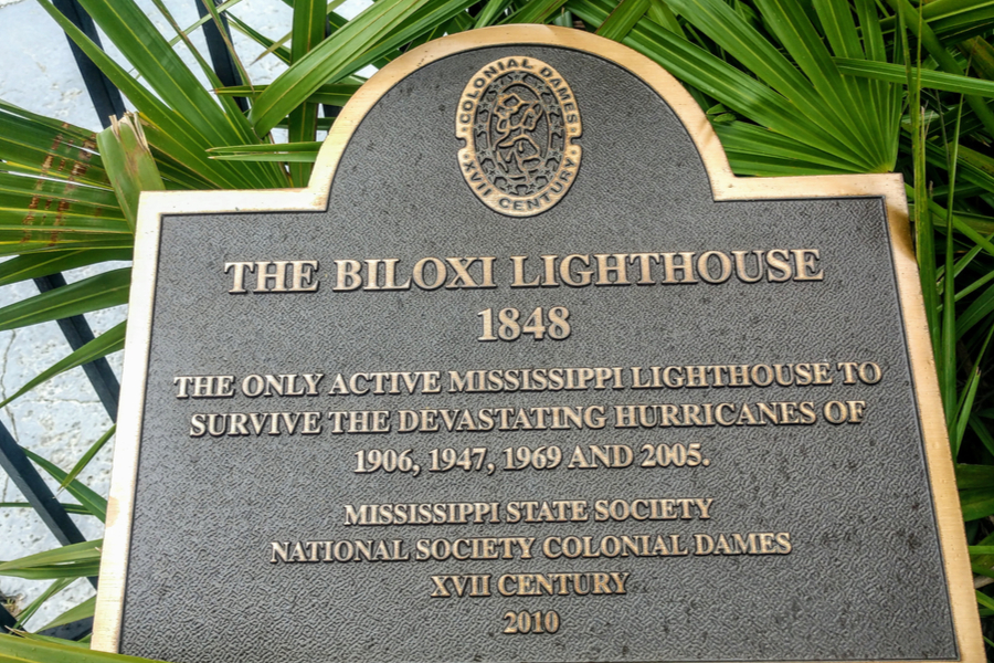 The Biloxi Lighthouse A Legacy Beacon Along The Gulf Shore Coast