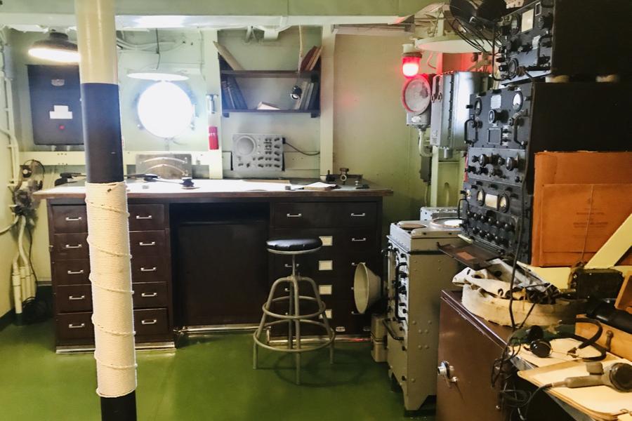 control room battleship