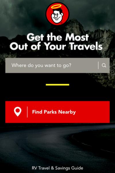 good sam camping app