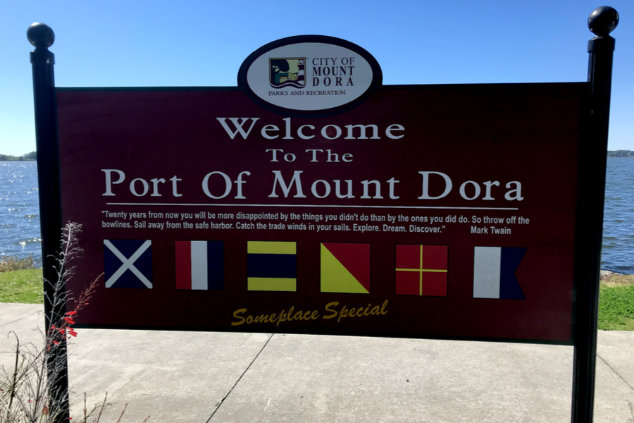 port of mount dora