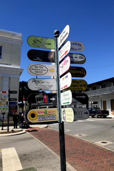 mount dora street signs