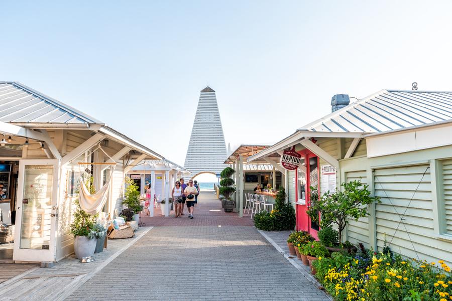 seaside shops