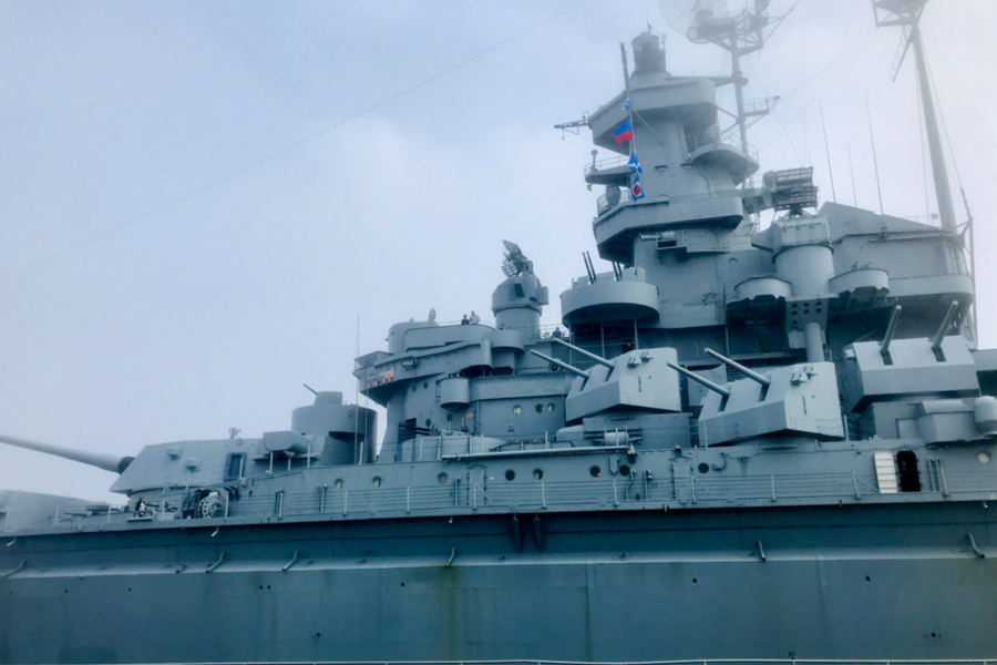 USS Alabama at Battleship Memorial Park