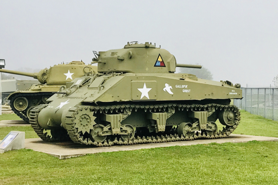 Veterans Memorial Park Tanks