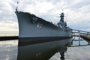 USS Alabama tour
