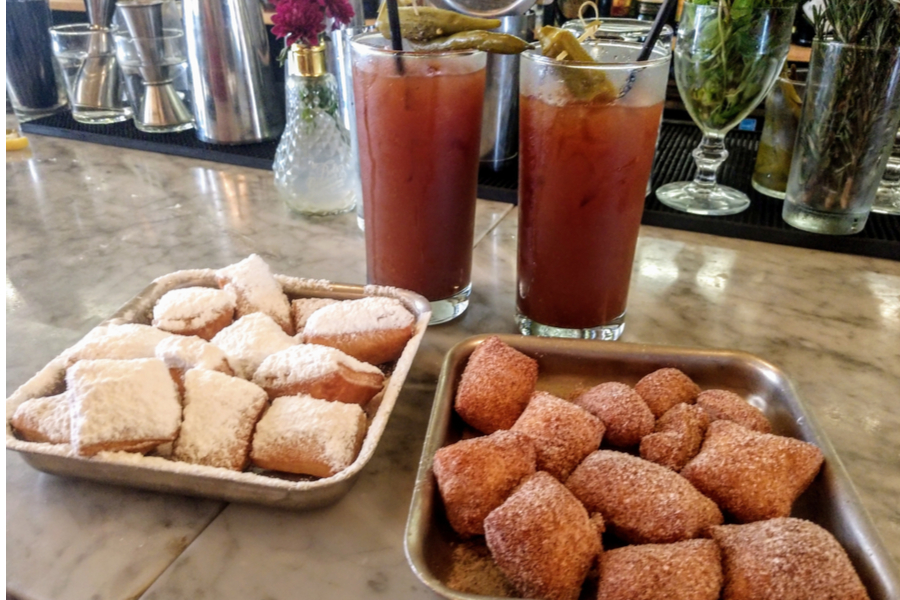 New Orleans - Beignets and Bloody Mary Saturday Morning.