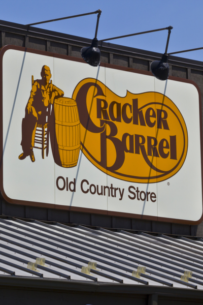 Cracker Barrel Camping